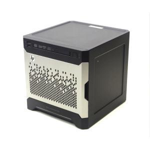 hp ProLiant MicroServer Gen8 Penitum G2020T 2.5GHz 4GB 2TBx2台(SATA3.5インチHDD/RAID1構成) DVD+-RW SmartArray B120i|tce-direct