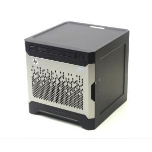 hp ProLiant MicroServer Gen8 Celeron G1610T 2.3GHz 4GB 1TBx2台(SATA3.5インチHDD/RAID1構成) DVD-ROM SmartArray B120i|tce-direct