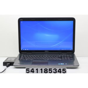 DELL XPS L701X Core i5 M560 2.67GHz/8GB/500GB/Multi/17.3W/WXGA++(1600x900)/Win7 バッテリー難あり|tce-direct