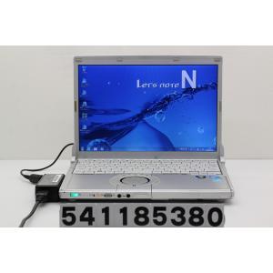 Panasonic CF-N9KW5MDS Core i5 M520 2.4GHz/4GB/128GB(SSD)/12.1W/WXGA(1280x800)/Win7 電源ボタン難あり|tce-direct