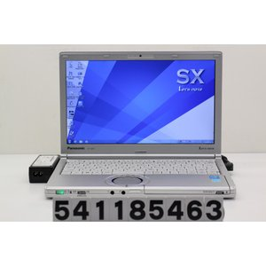 Panasonic CF-SX3EDHCS Core i5 4300U 1.9GHz/4GB/320GB/Multi/12.1W/WXGA++(1600x900)/Win7 シャットダウン難あり|tce-direct