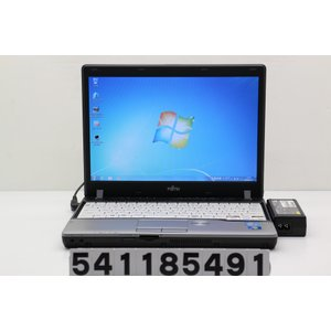 富士通 LIFEBOOK P772/G Core i5 3340M 2.7GHz/4GB/128GB(SSD)/Multi/12.1W/WXGA(1280x800)/Win7|tce-direct