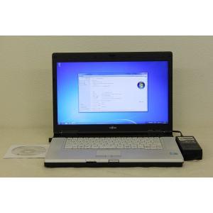 富士通 E780/A Core-i5-2.4GHz/3GB/160GB/DVD-ROM/15.6W/Win7|tce-direct