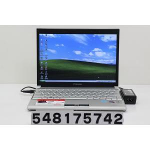 東芝 PORTEGE R500-S5008X Core2Duo U7700 1.33GHz/2GB/160GB/12.1W/WXGA(1280x800)/XP 英語OS キーボード不良|tce-direct