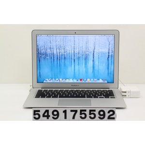 Apple MacBook Air A1369 Late 2010 Core2Duo L9600 2.13GHz/4GB/256GB(SSD)/13.3W/WXGA+(1440x900)/MacOSX10.9.5|tce-direct
