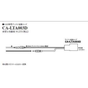 CA-LTA003D(パナソニック) トヨタ車用アンテナ変換コード
