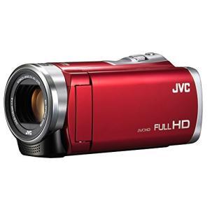 JVCKENWOOD JVC ビデオカメラ Everio 60倍ダイナミックズーム レッド GZ-E109-R|tds-shop