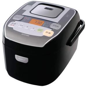 アイリスオーヤマ 圧力IH炊飯器 5.5合 圧力IH式 31銘柄炊き分け機能 極厚火釜 大火力 玄米 ブラック RC-PA50-B|tds-shop