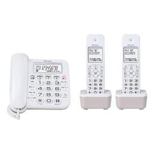 パイオニア デジタルコードレス留守番電話機 TF-SA16W(W)|tds-shop
