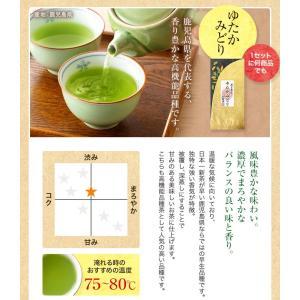 お茶 茶葉 敬老の日プレゼント ギフト 品種別に3個選ぶ 上級茶福袋 煎茶 知覧茶|tea-sanrokuen|08