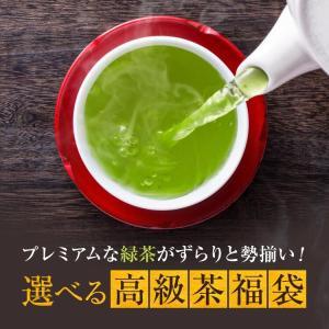 お茶 お歳暮ギフト プレゼントにも 茶葉 茶通も唸る 高級茶福袋 特上知覧茶他 最大4200円相当|tea-sanrokuen|03