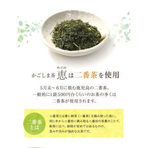 お茶 鹿児島茶 恵 100g×3個 送料無料 緑茶 茶葉 セール|tea-sanrokuen|04
