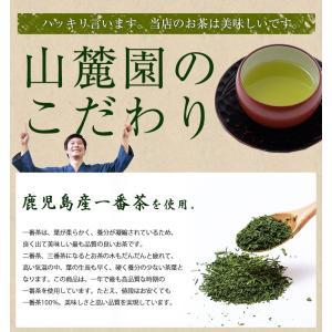鹿児島茶「桜」 100g 3個以上送料無料 お茶 煎茶 知覧茶使用 ポイント消化|tea-sanrokuen|07