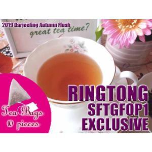 紅茶 ティーバッグ 10個 ダージリン リングトング茶園 オータムフラッシュ SFTGFOP1 EXCLUSIVE DJ430/2019 茶葉 リーフ teachaichai