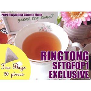 紅茶 ティーバッグ 20個 ダージリン リングトング茶園 オータムフラッシュ SFTGFOP1 EXCLUSIVE DJ430/2019 茶葉 リーフ teachaichai