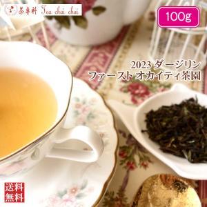 紅茶 ダージリン オカイティ茶園 ファースト FTGFOP1 SPL ORGANIC EX8/2021 100g 茶葉 リーフ|teachaichai