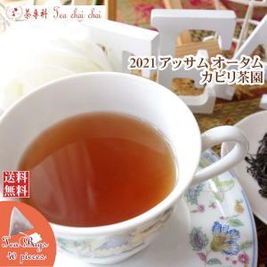 紅茶 ティーバッグ 40個 アッサム ハンマクジャン茶園 オータムフラッシュ TGFOP1 O416/2018 茶葉 リーフ teachaichai