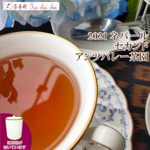 紅茶 ネパール 茶缶付 アンツバレー茶園 セカンド FTGFOP1 S NEPAL86/2021 50g 茶葉 リーフ teachaichai