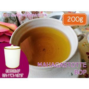 紅茶 茶葉 茶缶付 ヌワラエリヤ マハガストッテ茶園 BOP/2021 200g 茶葉 リーフ teachaichai