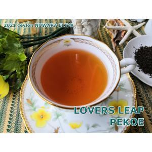 紅茶 茶葉 ヌワラエリヤ ラバーズリープ茶園 PEKOE/2021 50g 茶葉 リーフ teachaichai