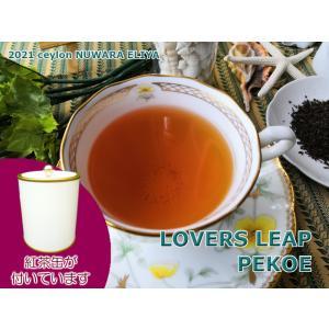 紅茶 茶葉 茶缶付 ヌワラエリヤ ラバーズリープ茶園 PEKOE/2021 50g 茶葉 リーフ teachaichai
