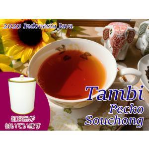 紅茶 ジャワ 茶缶付 タンビ茶園 Pecko Souchong/2020 50g 茶葉 リーフ teachaichai