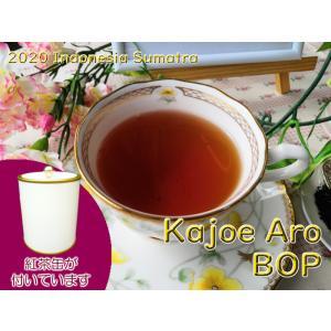 紅茶 スマトラ 茶缶付 カジョエアロ茶園 BOP/2020 50g 茶葉 リーフ teachaichai