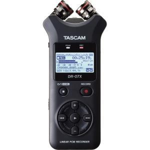 ステレオオーディオレコーダー/USBオーディオインターフェース TASCAM DR-07X