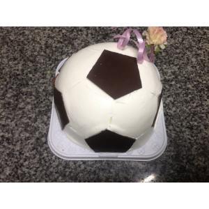 サッカーケーキ直径12cm2-3名様サイズ...