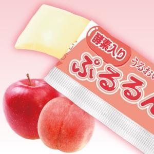 酵素入りぷるるんコラーゲンゼリー アップル&ピーチ味 30本...