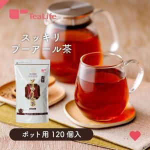 ダイエット プーアール茶ポット用120個入+水出しポット|tealife