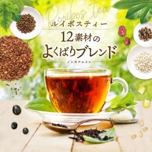 ルイボスティー12素材のよくばりブレンド 100個入×3袋 tealife