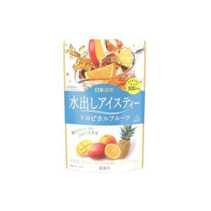 日東紅茶 水出しアイスティー トロピカルフルーツ 【紅茶 フレーバー 500ml 12袋】