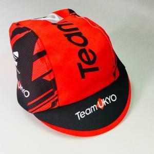 サイクルキャップ 自転車 ロードバイク チーム右京 TeamUKYO 自転車 メール便OK(2個まで)|teamukyo