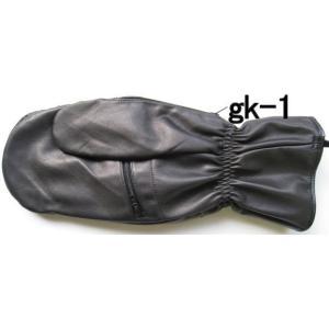 ゴルフ(スカイスポーツ)用ミトン牛革手袋|tebukuro|03