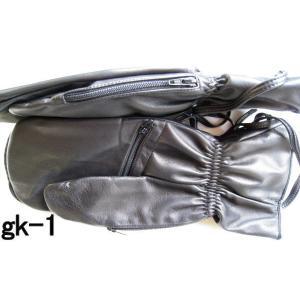 ゴルフ(スカイスポーツ)用ミトン牛革手袋|tebukuro|06