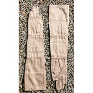アレルギー子供UV ロング手袋j-2 tebukuro