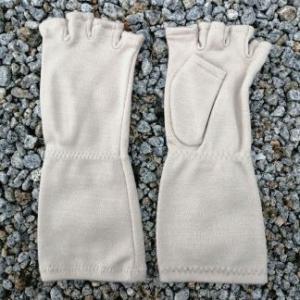 アレルギー  子供UV ハーフ手袋j-3 tebukuro