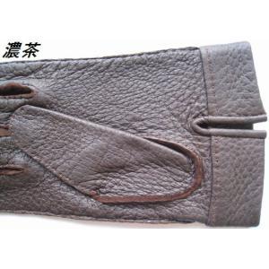 ペッカリー (水豚手縫い) 紳士手袋|tebukuro|05