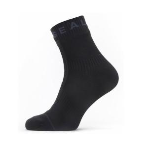 SEALSKINZ Waterproof All Weather Ankle Length Sock with Hydrostop Black/Grey size-L 11100062010130 全国送料無料 │シールスキンズ ソックス 靴下 Lサイズ|tech21