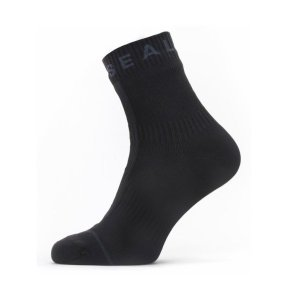 SEALSKINZ Waterproof All Weather Ankle Length Sock with Hydrostop Black/Grey size-XL 11100062010140 全国送料無料 │ ソックス 靴下 XLサイズ|tech21