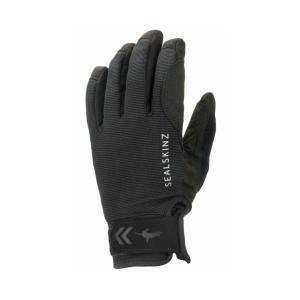 SEALSKINZ Waterproof All Weather Glove Black size-S 12100072000110 全国送料無料 │ シールスキンズ グローブ 手袋 Sサイズ|tech21