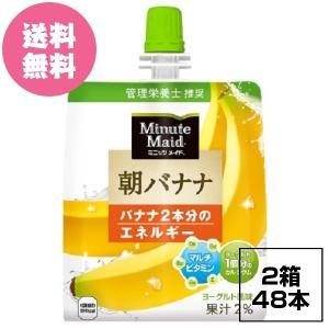 2ケースセット ミニッツメイド朝バナナ 180gパウチ(24本入) 全国送料無料|tech21