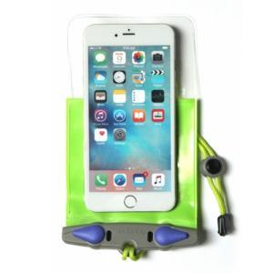 アクアパック 防水ケース 363 iPhone Plus 等 スマートホン 防水ケース Green aquapac tech21