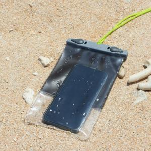 アクアパック 防水ケース 368 iPhone Plus 等 スマートホン 防水ケース Cool Gray aquapac tech21