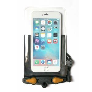 アクアパック 防水ケース 369 iPhone Plus 等 スマートホン 防水ケース Black aquapac|tech21