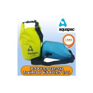 アクアパック 731/732 TrailProof ショルダーストラップ付ドライバッグ(7L) 全国送料無料 aquapac|tech21