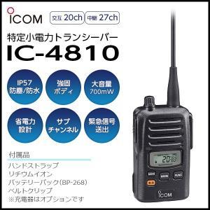 トランシーバー IC-4810 アイコム iCOM ICOM インカム 無線機 tech21