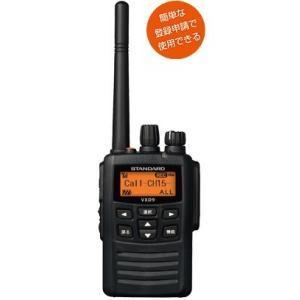 デジタル簡易無線登録局 VXD9 スタンダード 5W機 インカム 無線機 デジタル無線機|tech21