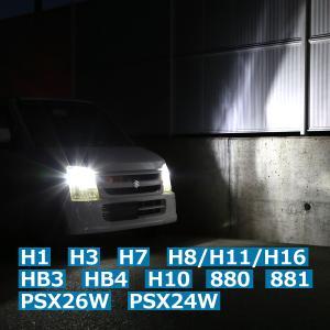 高輝度LEDヘッドライト H8/H11/H16 ヘッドランプ バルブ 車検対応 バーナー 6500k 12V 24V対応 HZ091〜HZ101|tech